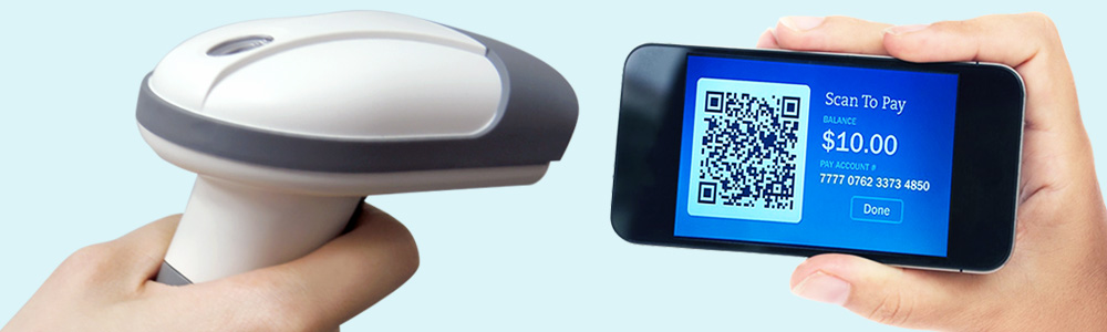 Taiwan 2D Handheld Barcode Scanner for Mobile Payment